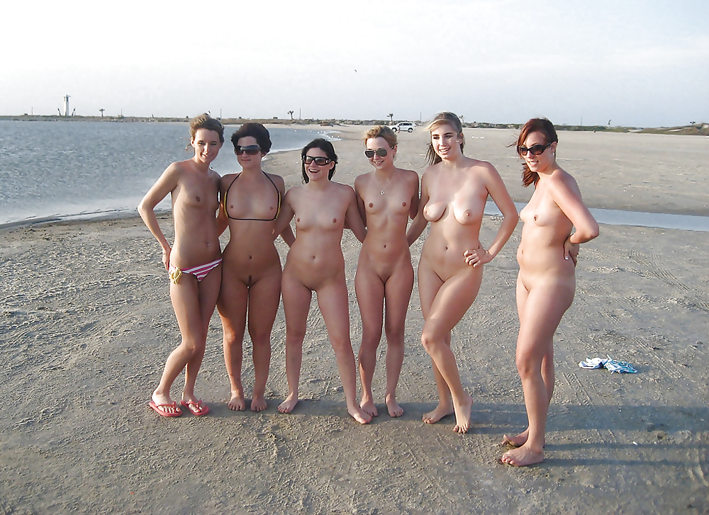 Teen girls nude at beach apologise